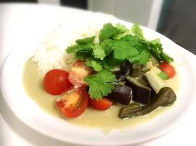 野菜のグリーンカレー